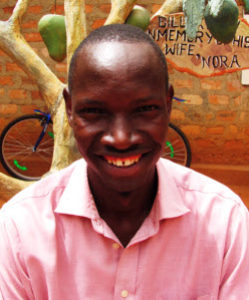 Moses has a certificate in carpentry and has assisted the Board of Trustees and the programme coordinators. He is a leader and coach of the Vocational School soccer team.