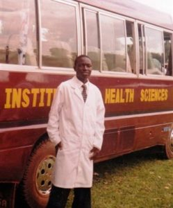 Robert has just completed his diploma in clinical medicine in Kabale in the southwestern corner of Uganda. He will work in a hospital
