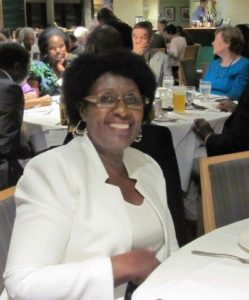 Mrs. Margaret Kyogire attends the sold-out CANHAVE dinner to represent the High Commissioner from Uganda.